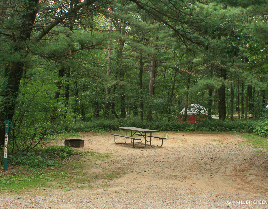 Bluewater Bay Campground Gallery Mirror Lake State Park