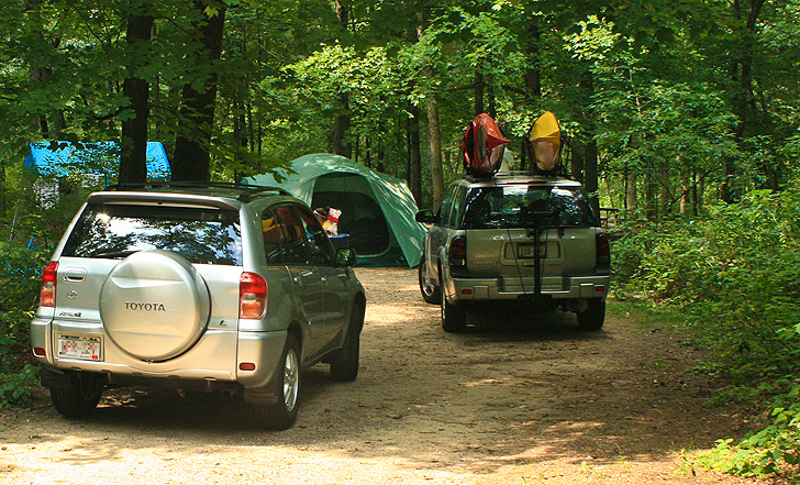Camping At Mirror Lake State Park Mirror Lake State Park